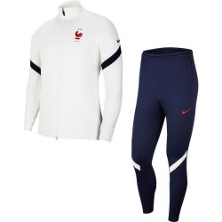 SURVÊTEMENT NIKE EQUIPE DE FRANCE DRY-FIT STRIKE BLANC 2020/2021